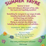 poster summer fayre A5