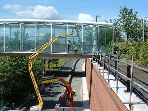 Featured Project:  Glazed bridge installation, Lancashire