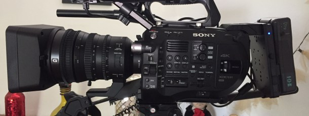Sony FS7 Mark II 4K Super 35mm Nueva adquisición
