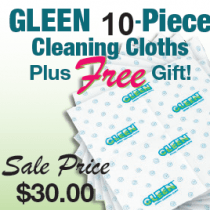 GLEEN Spring 10 Piece Cloth With One FREE Gift