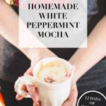 white peppermint mocha