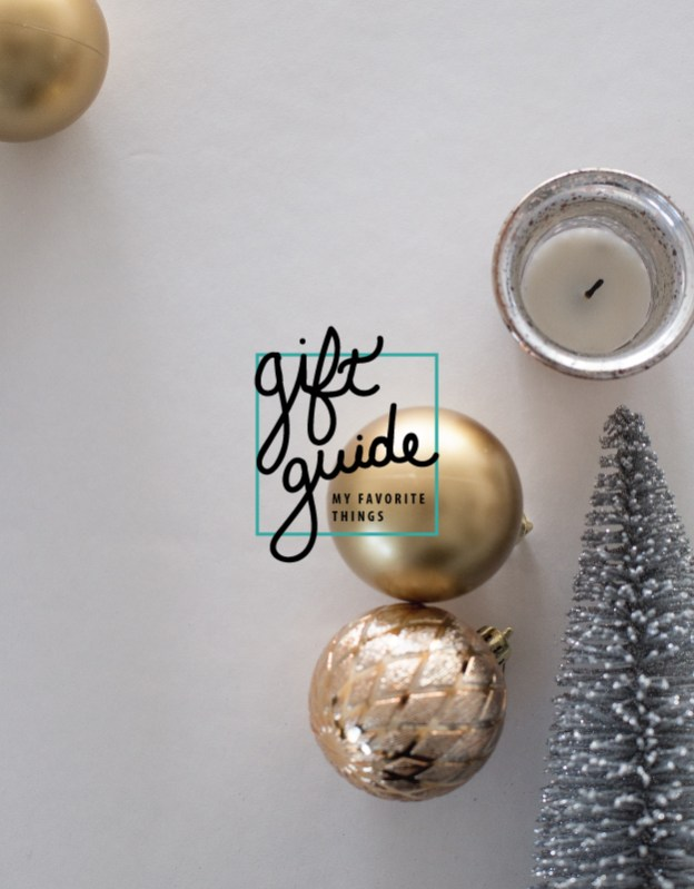 gift guide my favorite things