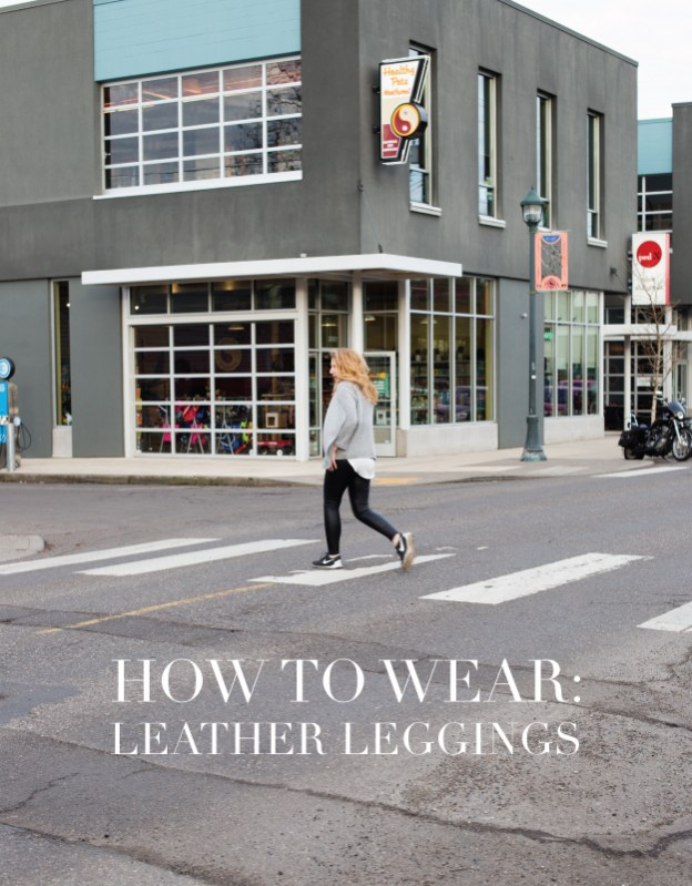 how-to-wear-leather-leggings