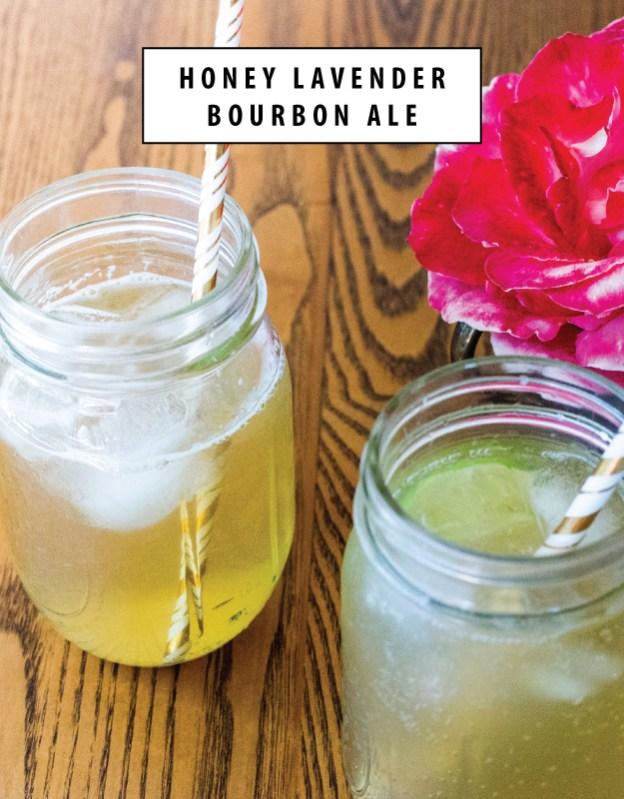 honey lavender bourbon ale