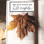 what we're reading now fall nights
