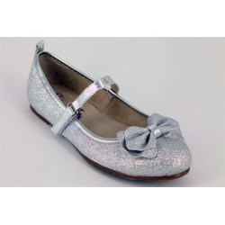 Relaxing Prom Crystal Silver Girls Flat Dress Crystal Silver Girls Flat Dress Shoes Glitzerella Silver Dress Shoes Wedge Heel Silver Dress Shoes