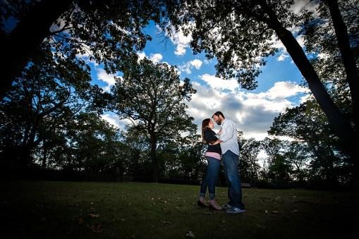 Lea & Mike's Kip's Castle Engagement Photos