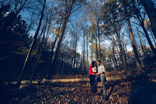 Jenny & Josh's Appalachian Trail Engagement Photos
