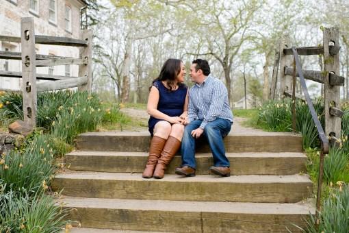 Dana & Matt's Allaire State Park Engagement Photos