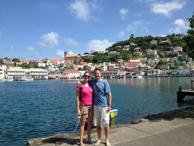 Exploring St. Georges in Grenada