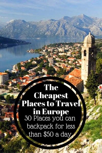 The cheapest places to travel in europe global for Cheap places to move to