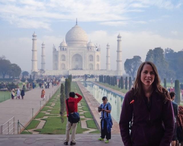 My first look at the amazing Taj Mahal