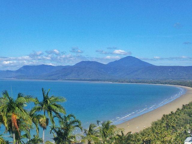 Port Douglad Beach in North Queensland