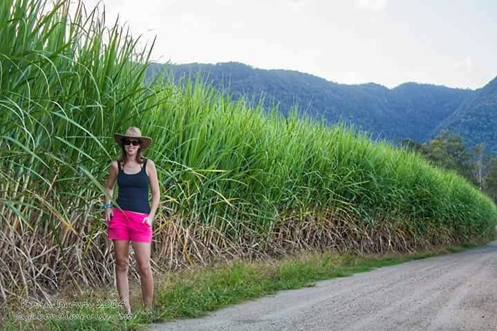 Just messing around in the sugarcane fields. Working in a rural area gave me an insight into a totally different way of aussie life