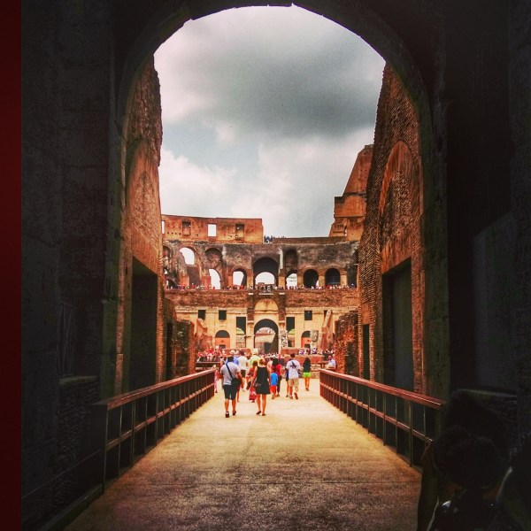 That Gladiator moment in the Colosseum