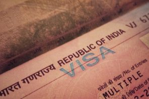 Don't forget you apply for a visa before traveling to India