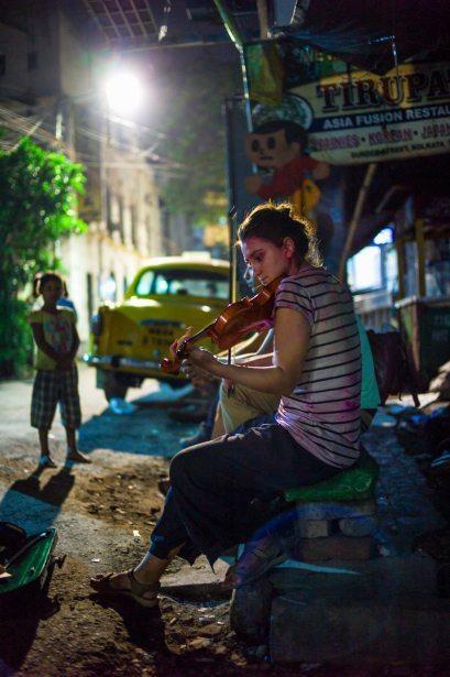 Busking in Kolkata