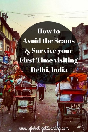How to Avoid the Scams and Survive your First Time visiting Delhi, India