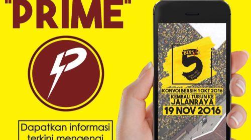 Prime for Bersih5