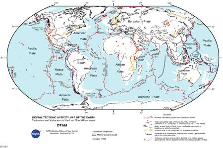 where can i find a world map that shows seismic fault