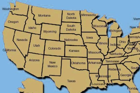 colleges and universities map of colleges and