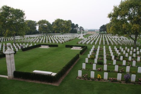 Canadian Cemetery near Juno Beach