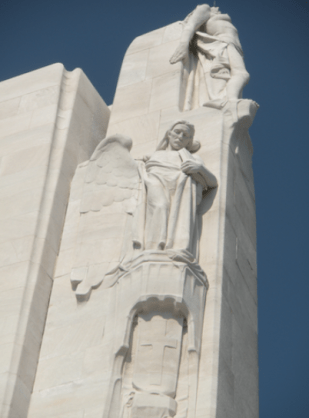 Statues representing virtues