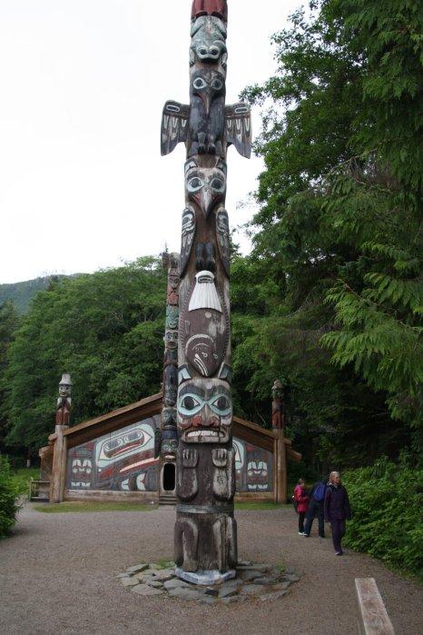 What a big totem pole