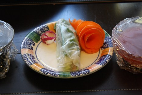 A sample of Fresh Rolls that Zoe made