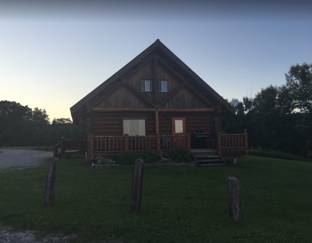 Log cabin for 2 nights
