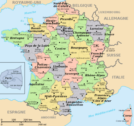 A map of the departments http://www.derietlandenexposities.nl/department-map-of-france.html