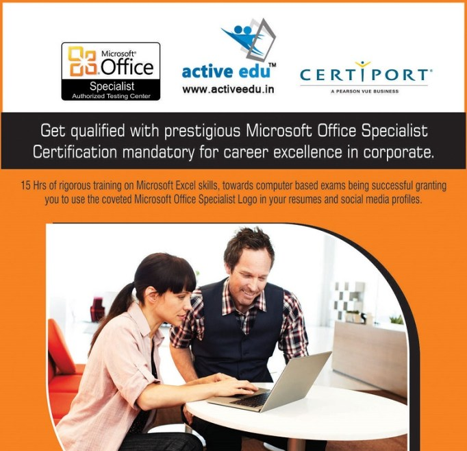 MS Excel Certification