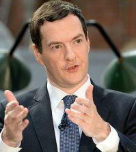 The UK's Chancellor of the Exchequer George Osborne. Photo by UK Treasury