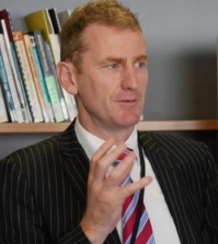 Andrew Hampton was New Zealand's first ever government chief talent officer