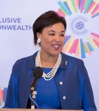 Commonwealth Secretary-General Rt Hon Patricia Scotland QC