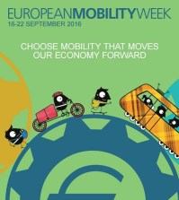 European Mobility Week runs from 16 to 22 September