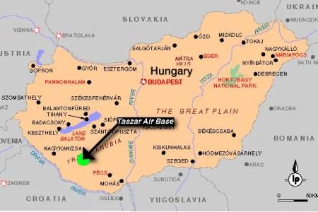 taszar map