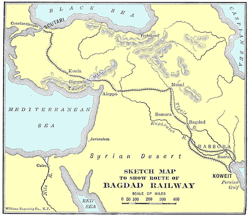map of ancient baghdad