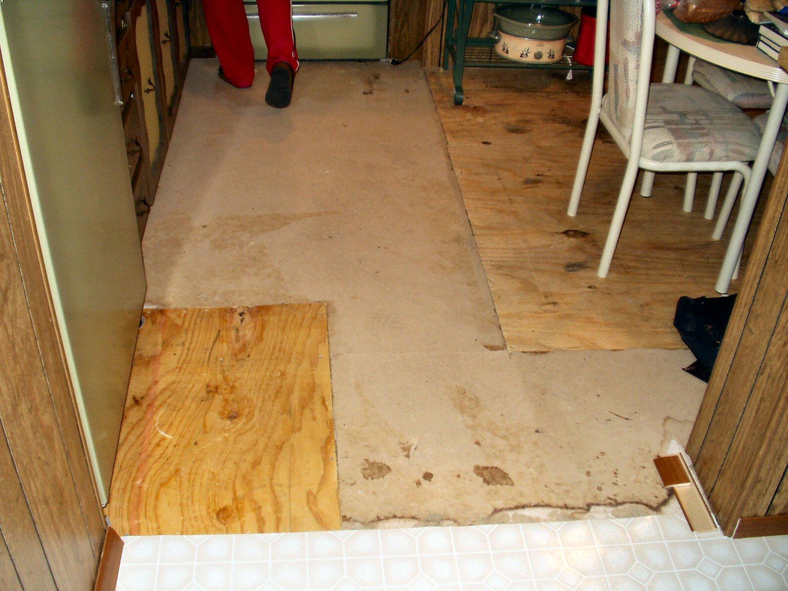Kitchen kitchen vinyl flooring Before