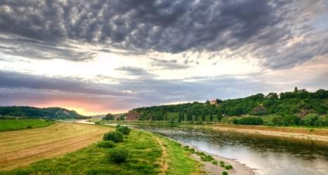 Elbe River Valley, Saxony Germany