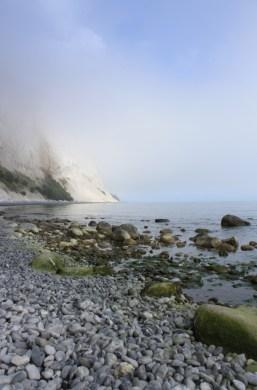 Møns Klint vues d'en bas - île de Møn - Danemark