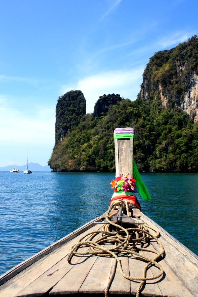 Long tail boat - Baie de Phang Nga - Thailande