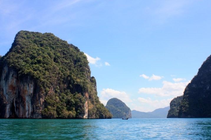 Vue baie Phang Nga - Thailande