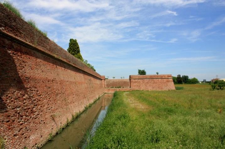 Mur enceinte - Sabbioneta - Italie