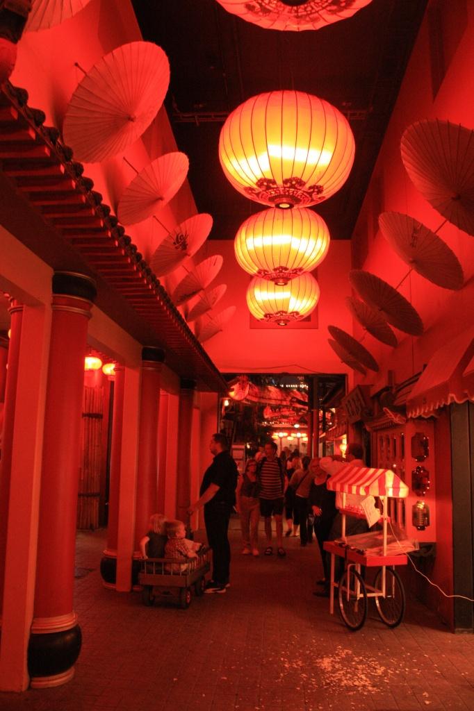 Ambiance asiatique - tivoli - copenhague