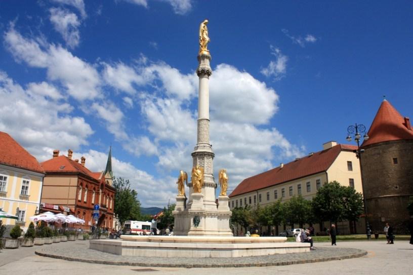place Kaptol - Zagreb - Croatie