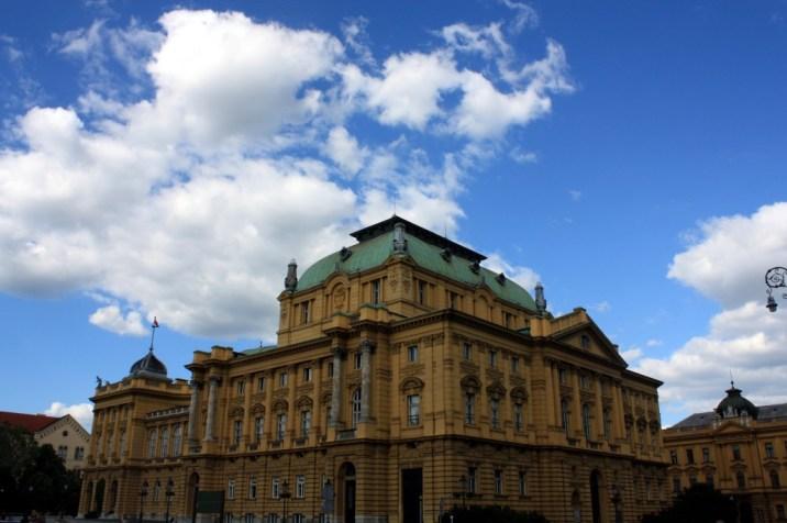 Theatre - Zagreb - Croatie