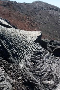 lave cordée - Volcan - Ile de la Réunion
