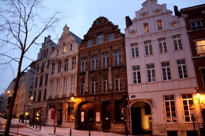 rue nuit - bruxelles