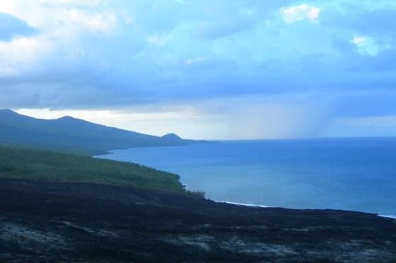 coulée - ile de la Réunion